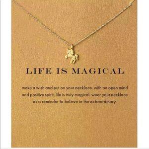 Jewelry - 4 for $25⚡️unicorn necklace